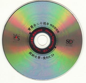 模拟之声慢刻CD 宝丽金20周年特别发烧版[正版CD原抓WAV+CUE]